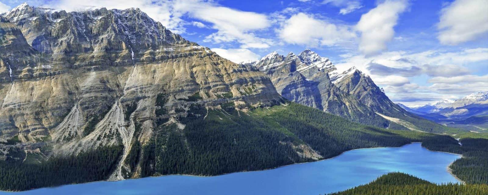 Kanada Rundreise - Peyto Lake im Banff Nationalpark