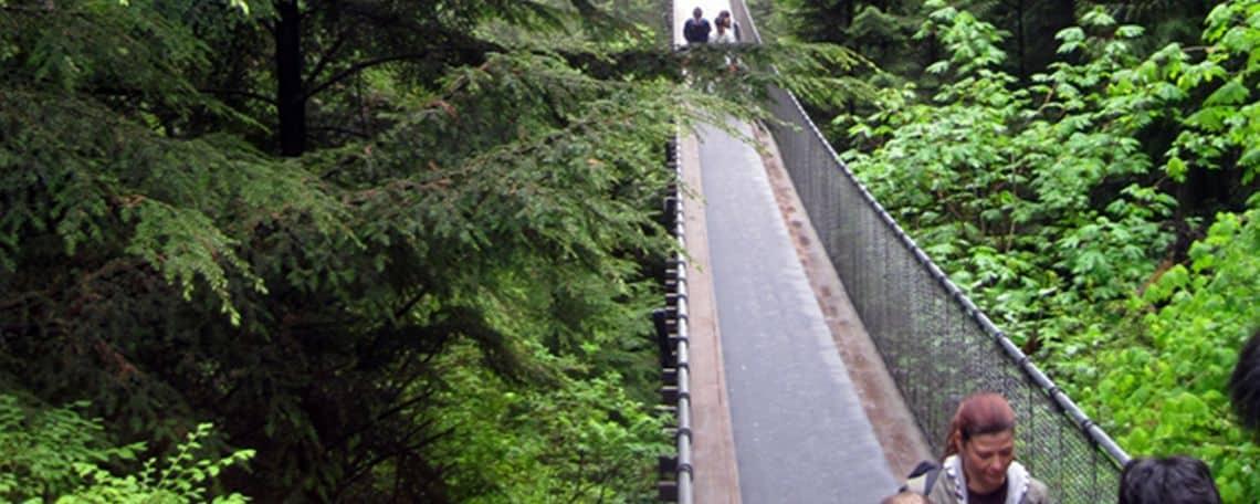 Grouse Mountain und Capilano Suspension Bridge