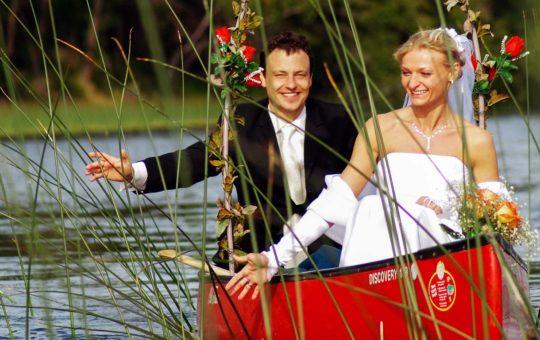 Hochzeit und Flitterwochen auf einer kanadischen Ranch