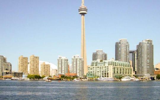Die großen Städte Ostkanadas