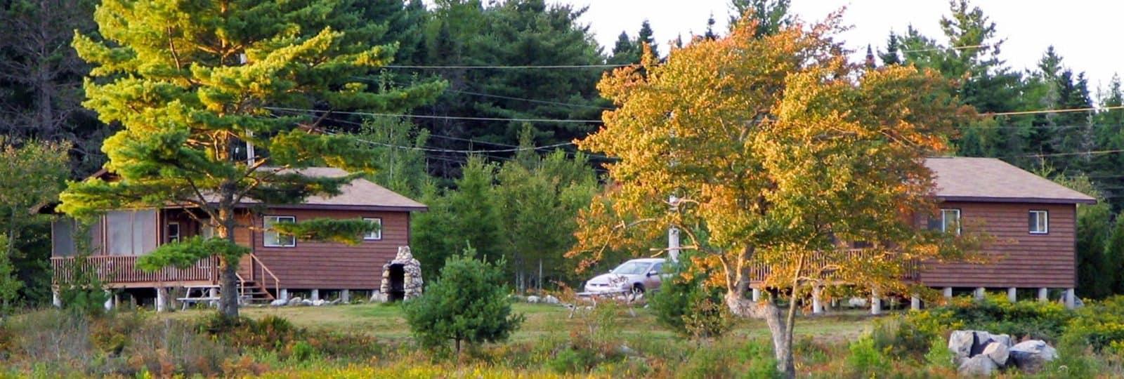 Cottages an der Suedkueste Nova Scotia´s
