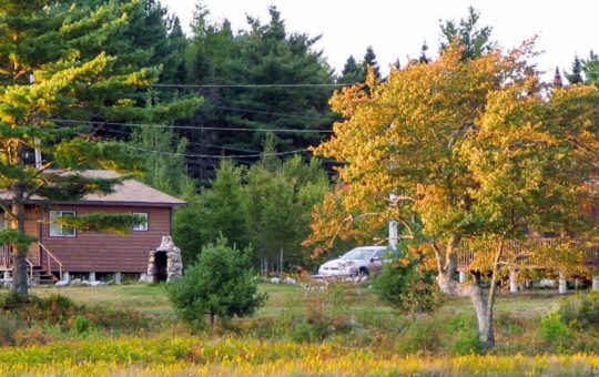 Cottages an der Suedkueste Nova Scotia´s