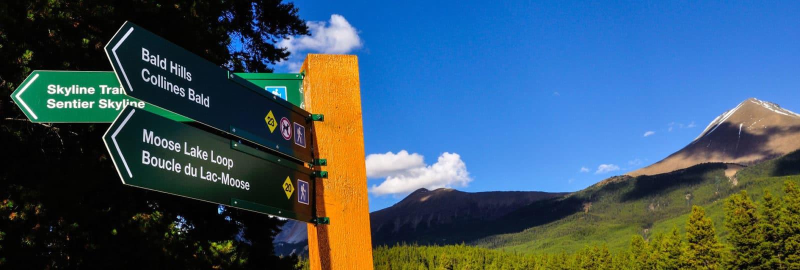Auf Schusters Rappen durch die Weiten der Rocky Mountains