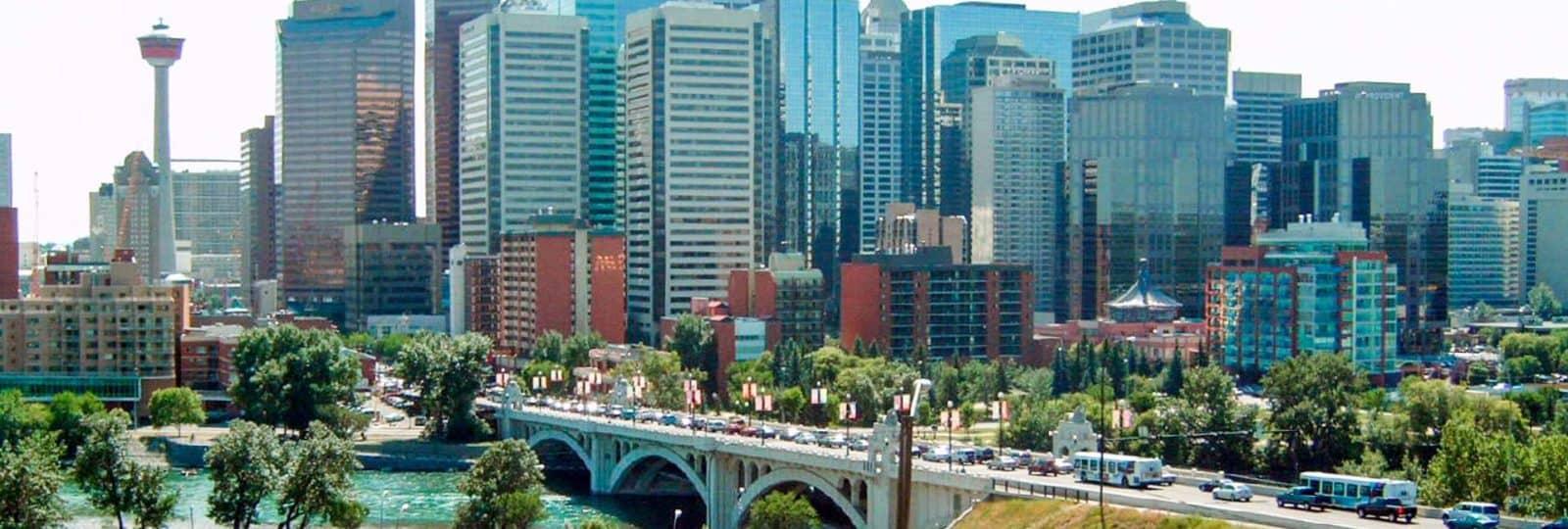 Stadtrundgang in Calgary mit Manuel