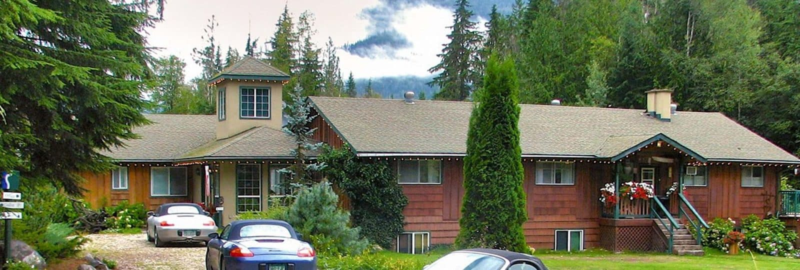 B&B bei Revelstoke am Arrow Lake