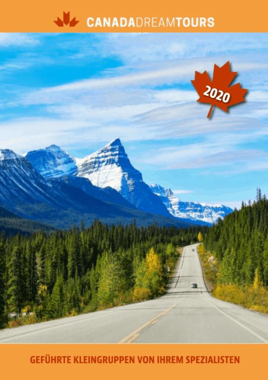 Canada Dream Tours Sonderkatalog gefuehrte Kleigruppenreisenl