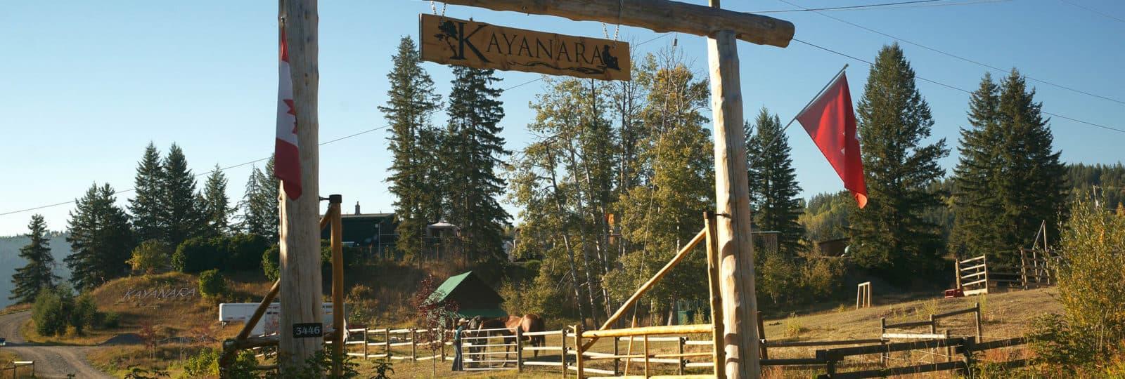 Guestranch der Pillon Familie beim Canim Lake in Westkanada