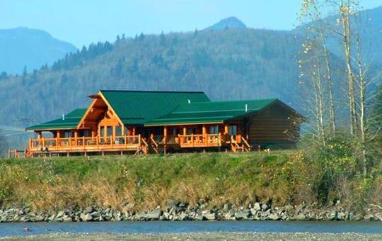 Luxuriöses Wilderness & Angel Resort nahe Vancouver am Fraser River
