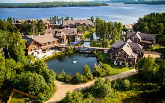 Auberge im Park Lac Taureau zwischen Montréal & Mont Tremblant – Erholung pur!