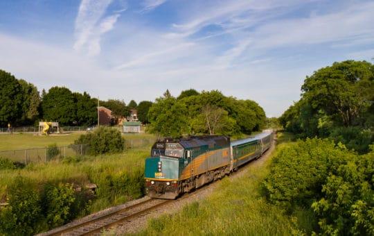 The Ocean – Montréal bis Halifax mit dem Zug