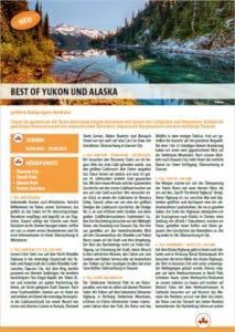 Yukon-Alaska-Kleingruppe Flyer